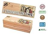 Grillbretter Western Red Cedar von Axtschlag | schonendes Grillen und Garen auf natürlichem Holz | Wood Planks Räucherbretter | Größe 300 x 110 x 11 mm | 8er BBQ Party Pack
