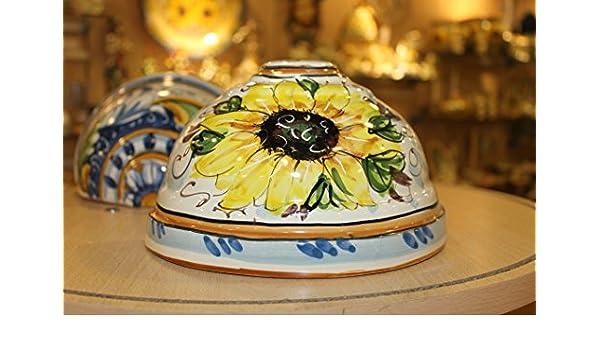 Applique in ceramica caltagirone artistica amazon casa e cucina