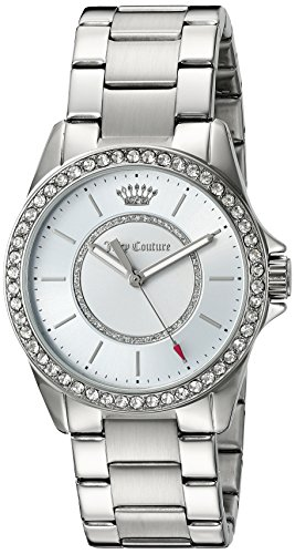 Juicy Couture Women's 'Laguna' Quartz Stainless Steel Casual Watch, Color:Silver-Toned (Model: 1901407)