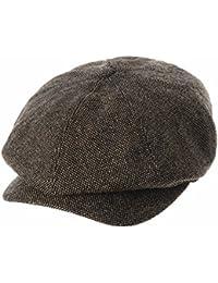 WITHMOONS Sombreros Gorras Boinas Bombines Newsboy Hat Wool Felt Simple  Gatsby Ivy Cap SL3525 303c1e85366