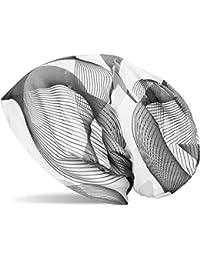 styleBREAKER Beanie Mütze mit asymetrischem Guilloche Muster im Destroyed Vintage Look, Unisex 04024073