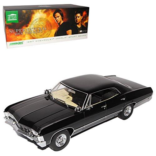 chevrolet-impala-sport-sedan-limousine-schwarz-supernatural-1965-1970-1-18-greenlight-modell-auto-mi