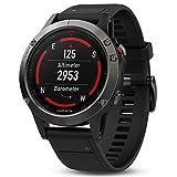 Garmin fēnix 5 GPS-Multisport-Smartwatch - 24/7 Herzfrequenzmessung am Handgelenk, zahlreiche Sport- & Navigationsfunktionen, 1,2 Zoll (3cm) Farbdisplay - 7