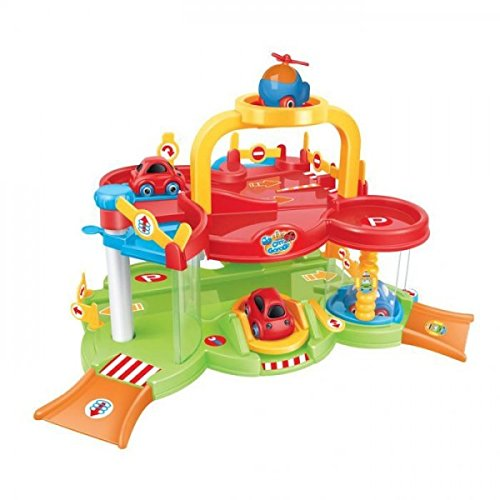 Varie Playset garaje 405-1115. Coches y helicoptero.