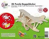 Mara by Marabu 046000001 - Doppeldecker, 3D Puzzle, 25-Teile