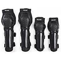Deasengmins Outdoor Knee Pads Elbow Pads Skating Motorcycles Quick Drop Protectors