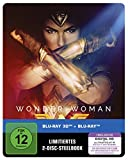 Wonder Woman als Steelbook (Limited Edition exklusiv bei Amazon.de) [3D Blu-ray]