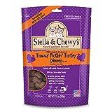 Stella & Chewy's Freeze-Dried Raw Tummy Ticklin' Turkey Dinner Morsels Grain-Free Cat Food, 12 oz bag