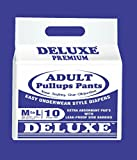 #3: Deluxe Adult Diapers Pullups Pants Medium 65-100Cms 25