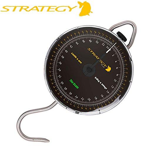 Strategy The Scale - Fischwaage zum Karpfenangeln, Analoge Waage zum Wiegen von Karpfen & Raubfischen, Karpfenwaage