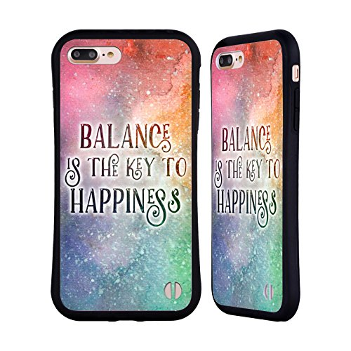 Ufficiale Brigid Ashwood Esperienza Umana Ispirazionale 2 Case Ibrida per Apple iPhone 5 / 5s / SE Equilibro