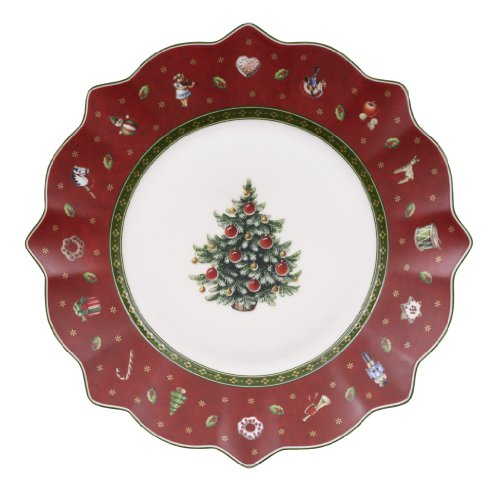 Villeroy & Boch 1485852640 Toy's Delight Assiette plate Porcelaine Rouge 240 mm