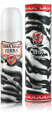 Kuba Paris Jungle Zebra Eau De Parfum Spray 100 ml -