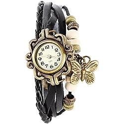 SSITG Women's Watch Bracelet Watch Ladies Quartz Watches Wrap Watch Bracelet PU Leather Wrist Watch Gift Gift (5