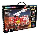 Laser Pegs 18601 Fire Truck Spielwaren, Mehrfarbig