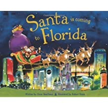 Santa Is Coming to Florida by Steve Smallman (1-Oct-2012) Hardcover