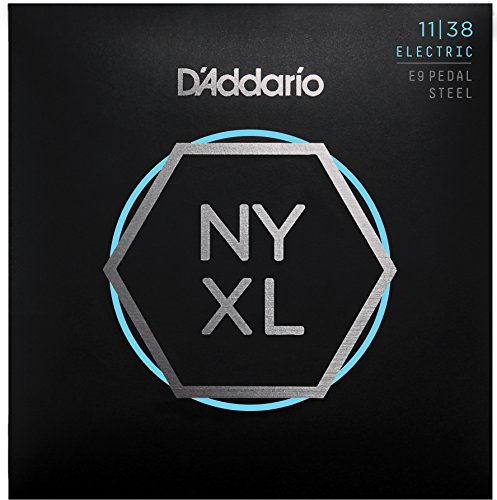 D 'Addario nyxl1138ps Regular Light 11–38 Nickel Wunde Pedal-Steel-Gitarre Saiten