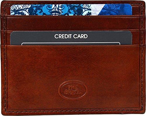 The Bridge Porte-carte de crédit 01221101-14 Marron