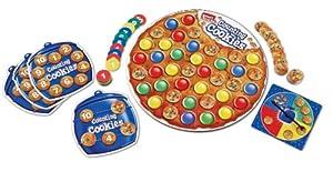 Learning Resources LER 7410 Smart Snacks - Juego para aprender a contar con galletas (en inglés)