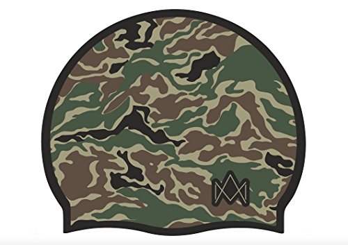 Impera cuffia mimetica - cuffia piscina taglia unica 100% silicone (camouflage)