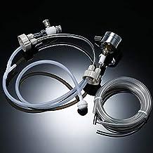 Anself - DIY Kit de sistema de CO2 generador con presión aire medidor flujo ajuste Vavle