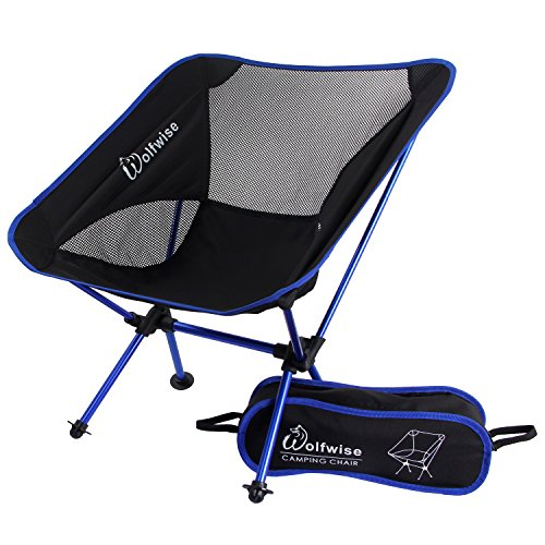 Opiniones wolfwise taburete plegable ultralight camping - Silla camping plegable ...