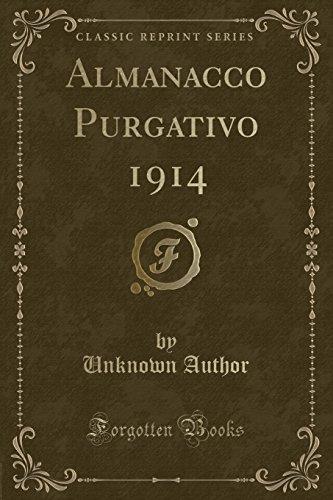 Almanacco Purgativo 1914 (Classic Reprint)
