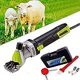DWYMJ Electric Sheep Shearing 500w, Sicuro e ad Alta efficienza Pratica Lana Fader elettrica, ad Alta Potenza elettrica Cesoia, Usato per tosatura delle Pecore, capre, Cani Grandi e Angora Conigli