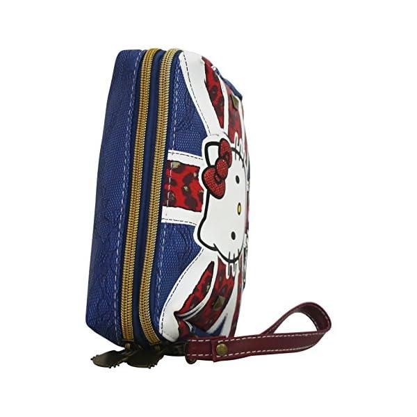 Hello Kitty England Caso Make Up Bag Bolsos Neceser Vanity Pochette