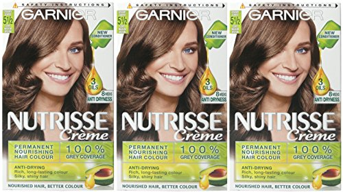 3-x-garnier-nutrisse-creme-cream-permanent-hair-dye-5-1-2-light-medium-brown