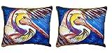Paar Betsy Drake Pelican Wing Outdoor Kissen 40,6x 50,8cm