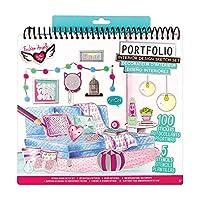 Fashion Angels 11510 Interior Design Portfolio Sketchbooks