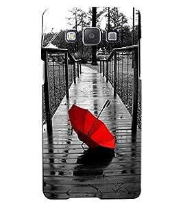 Citydreamz Red Umbrella/Rains/Bridge/Beautiful scenery Hard Polycarbonate Designer Back Case Cover For Samsung Galaxy J2 2016 Edition