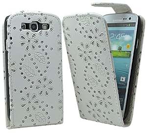Accessory Master Etui en cuir avec Strass de diamants pour Samsung Galaxy S III i9300