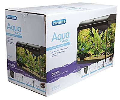 Interpet Aquaverse Glass Aquarium Fish Tank