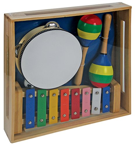 A B Gee lxs0033 Holz Musical Instrument Set (Toy Musical Instrument Set)