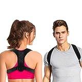 Correcteur de posture et redresse dos pour hommes et femmes,Ceinture dorsale...