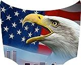 Motorhauben Tattoo Aufkleber Adler Amerika