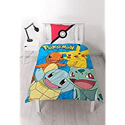 Pokemon 'Generation' Bed Linen - 100% Cotton (140 60x70 cm