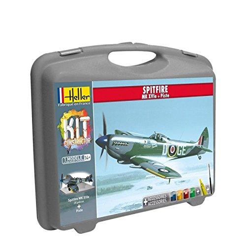Heller 60282 - Modellbausatz Spitfire (+ Piste)