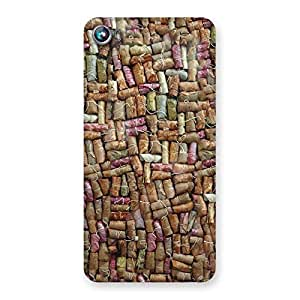 Enticing Bullet Bomb Back Case Cover for Micromax Canvas Fire 4 A107