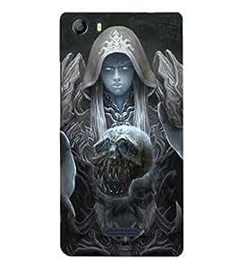 EPICCASE supernatural Mobile Back Case Cover For Micromax Canvas 5 E481 (Designer Case)