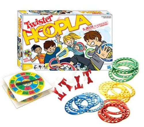 Hasbro–16964–Gesellschaftsspiel–Twister Hoopla