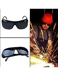 UxradG Gafas de soldar, Gafas Protectoras de Soldador de Ojos, Gafas de Sol de