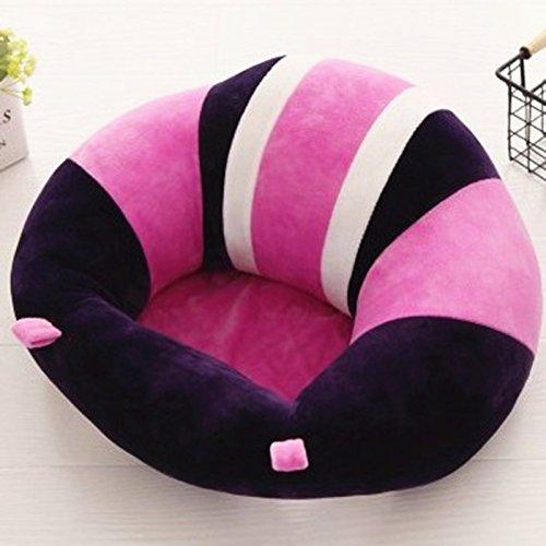 Colorido lindo asiento de apoyo para bebé, asiento para aprender a sentarse, cojín suave para silla...