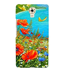 Colourful Painting 3D Hard Polycarbonate Designer Back Case Cover for Gionee M6