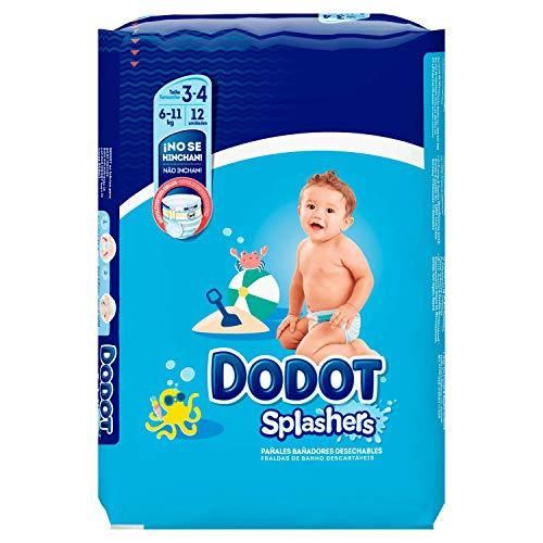 Dodot Splashers - 12 Pañales Bañadores Desechables