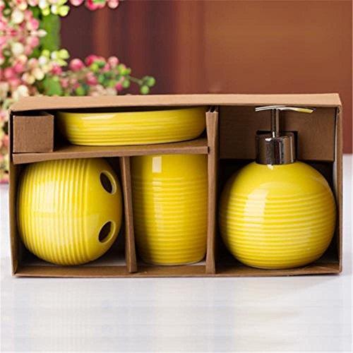 bathroom-bathroom-accessories-sets-of-four-emulsion-bottle-toothbrush-holder-mouthwash-cup-soap-dish