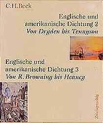 Englische und amerikanische Dichtung  Gesamtwerk: in vier Bänden