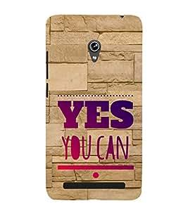 EPICCASE motivational quotes Mobile Back Case Cover For Asus Zenfone 6 (Designer Case)